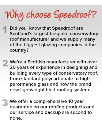Replacement Trade Conservatory Roofs | Speedroof